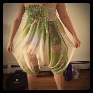Dresses & Skirts - Indian Sheer romper dress