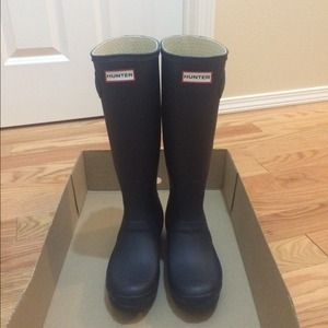 New Hunter Rain boots