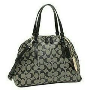 New Coach Peyton signature Cora domed  satchel