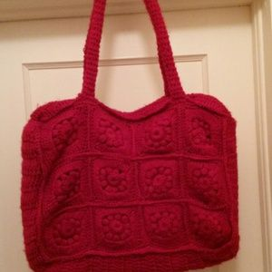 Handbags - Crochet bag. Large