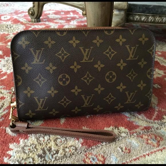 Louis Vuitton Handbags - Louis Vuitton orsay monogram clutch handbag purse 1103780bae3e2