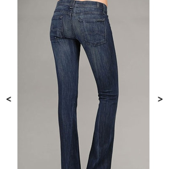 83% off 7 for all Mankind Denim - 7 for all mankind Rocker jeans ...