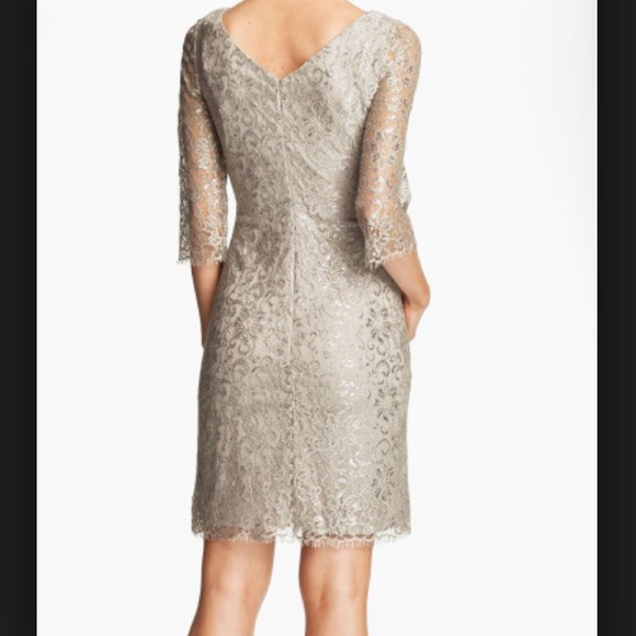 50723dd901a6 Calvin Klein Sequined Lace Sheath Dress