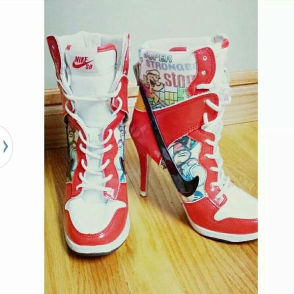 nike sb dunk popeye high heel Qualified Orders Ship Free. Elctrc Men s  White Gamma Running Shoes Huarache Air Nike Blue ... abd3f4c8d