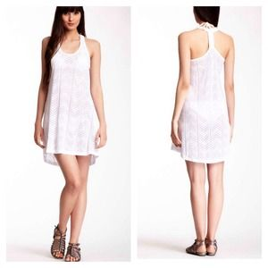 The Balance Collection Dresses & Skirts - THE BALANCE COLLECTION Lace Cape Tank Dress NWT