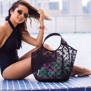 cruciani Handbags - Cruciani beach bag