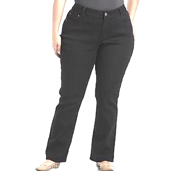 Lee - Riders by Lee Black Jeans Plus size 22WL from Melody's ...