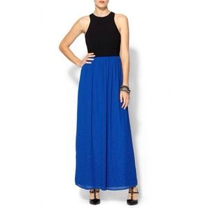 Rhyme Los Angeles Dresses & Skirts - Cobalt Blue Illiana Grecian Maxi Dress