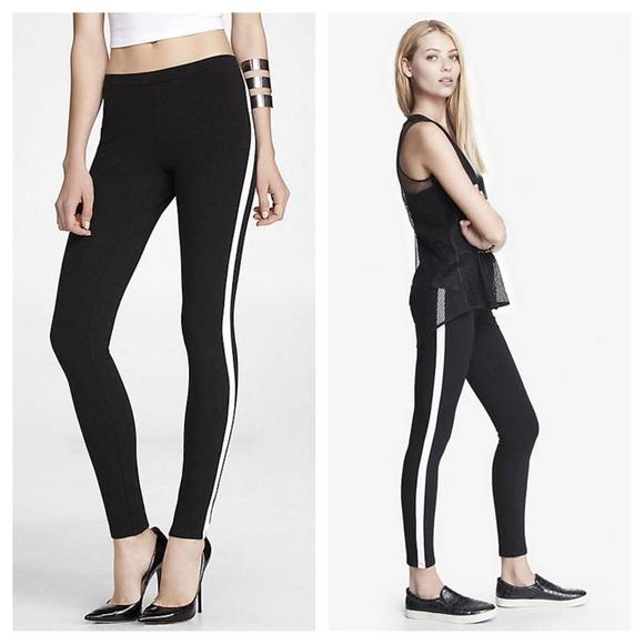 Express Pants Jumpsuits Sale Stretch Tuxedo Legging Poshmark