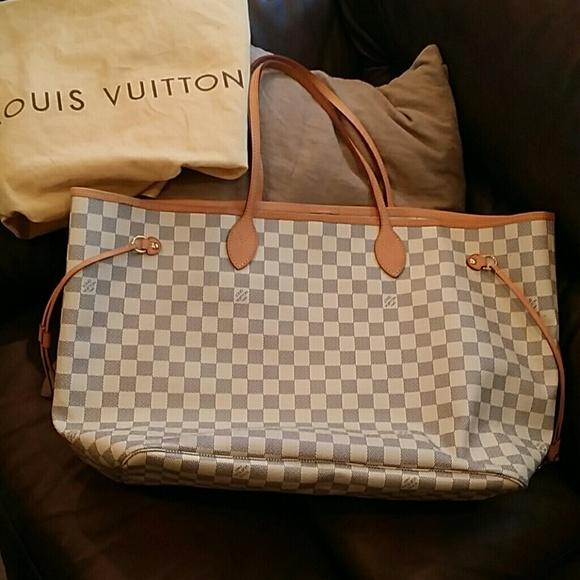 11cf98a9683c Louis Vuitton Handbags - SALE  849 Auth. LV Neverfull GM