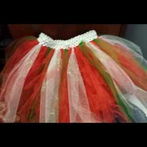 Little Girl Christmas Tutu
