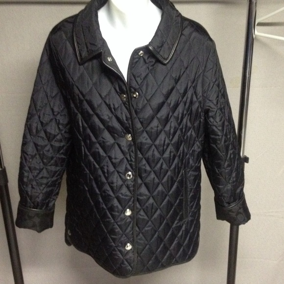 Coach Jackets Coats Quilted Jacket Poshmark