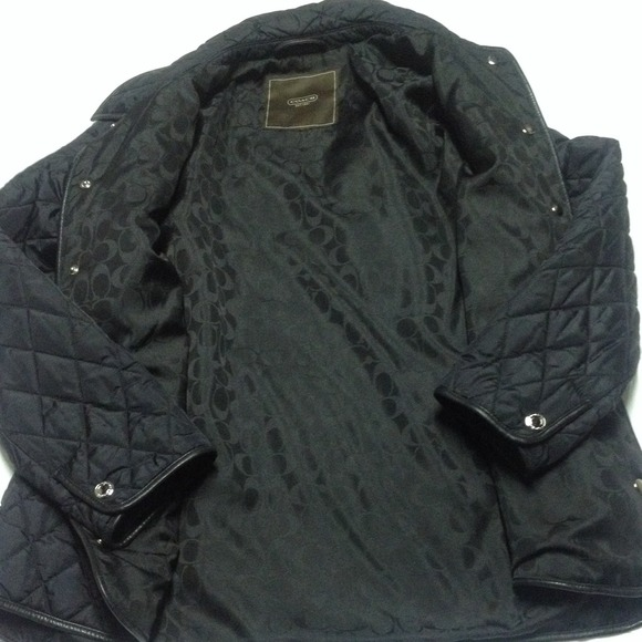 55 Off Coach Jackets Amp Blazers Coach Quilted Jacket