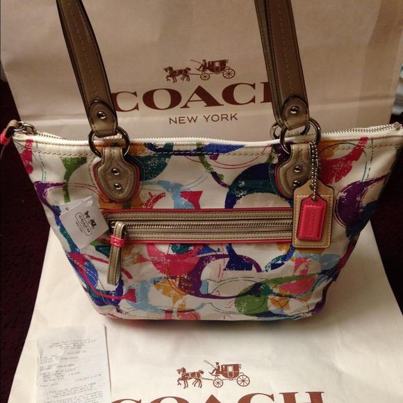 2330b7f4aa0c ... where to buy brand new coach bag. price firm 98807 2ab53