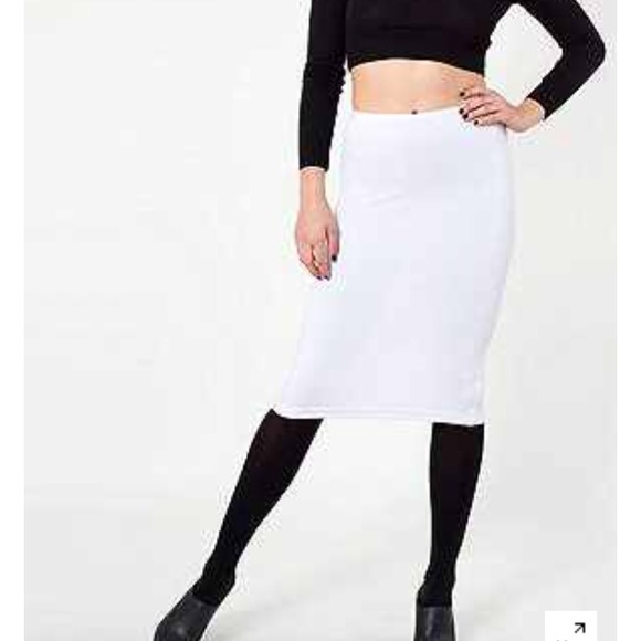 22 american apparel dresses skirts ponte mid