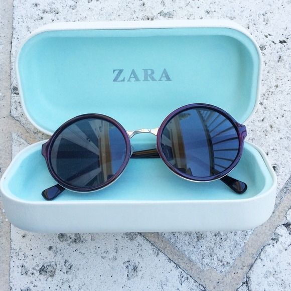 b5d6803726 ... THIS ITEM IS SOLD! Zara round frame sunglasses.  M 545520eef71a86055e014ca7
