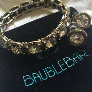 Baublebar Bracelet and Matching Earrings