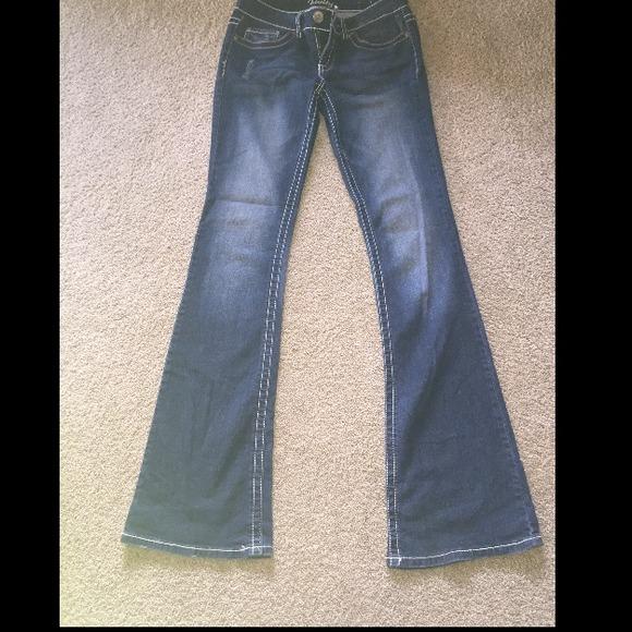 Vanity Pants: Boot Jeans Size 27w 37l