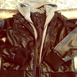 Jackets & Blazers - Leather jacket