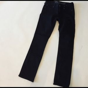 Madewell Denim - Madewell cigarette leg denim black size 25