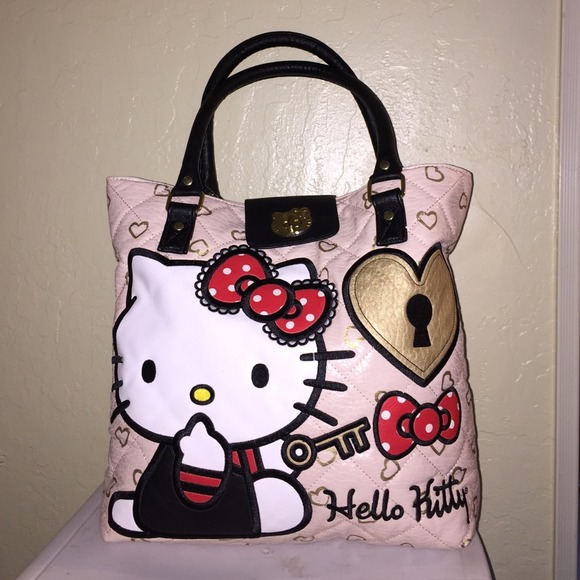 d557ebea1a62 Loungefly Handbags - Loungefly Hello Kitty fashion Tote bag