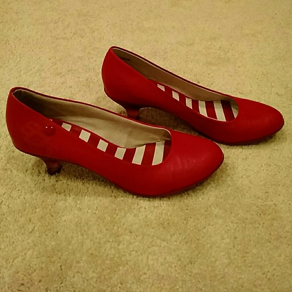 87% off s. Oliver Shoes - Red European high heels Size 9. from ...