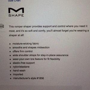 ad2c3a63e7403 Maidenform Intimates   Sleepwear - BUNdLE Shape Dream Shapewear WYOB  Romper