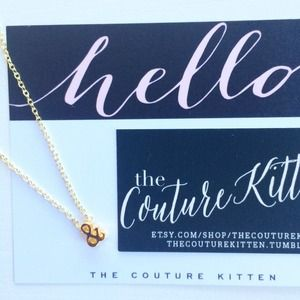 Custom Gold/ Silver Ampersand Charm Necklace