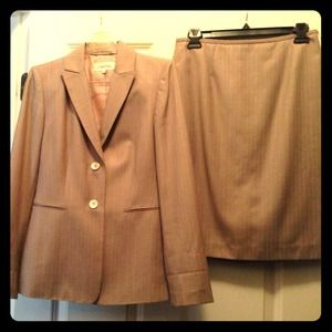 Calvin Klein Dresses & Skirts - FINAL SALE PRICE! 😎 Calvin Klein Pinstriped Suit