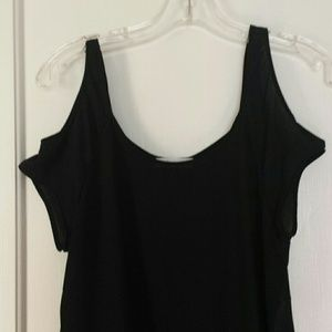 Ambiance Apparel Tops - Black Ambiance Apparel shirt