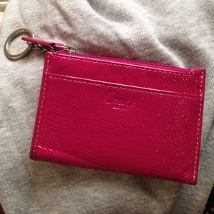 Coach Clutches & Wallets - Coach key ring/cardholder/mini purse
