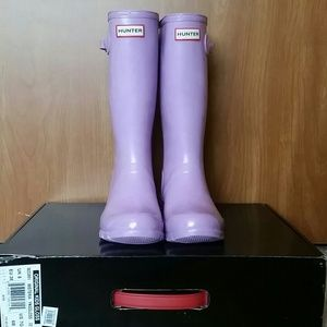Lavender Youth Hunter Boots