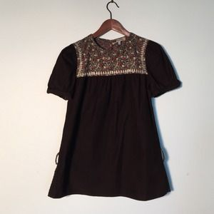 See by Chloe Tops - See By Chloe Corduroy Peasant Top size 8