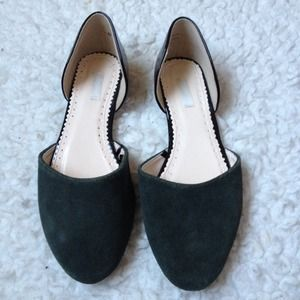 Shoes - Suede and Patent Leather Flats Bundle of two!