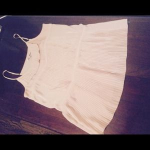 Pleated blouse by Anthropologie