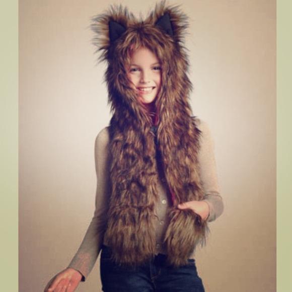 Skaist Taylor Faux Fur Hat for kids sz s-m a4fcea4974f