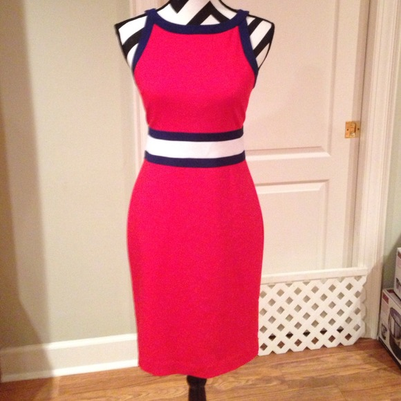25% off Banana Republic Dresses & Skirts - Gorgeous red white and ...