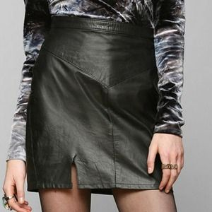 Urban Outfitters Dresses & Skirts - Reformation X UrbanRenewal Suede UO Skirt