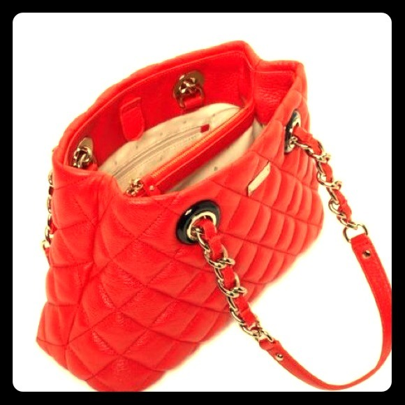30% off kate spade Handbags - SOLD! Authentic Kate Spade Quilted ... : kate spade red quilted bag - Adamdwight.com