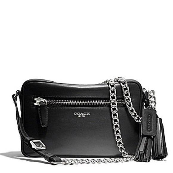 Coach Bags Sold Leather Tassel Legacy Flight Bag Poshmark