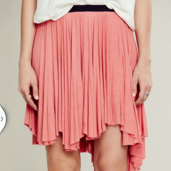 free free high front low back skirt from