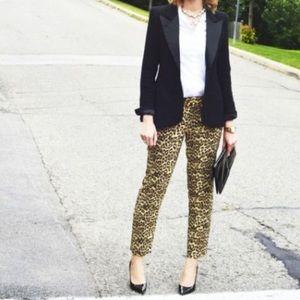 Banana Republic Leopard Skinny Ankle Pant