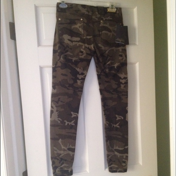 Beautiful Zara Camouflage Print Trousers In Multicolor  Lyst