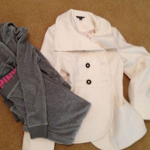 Outerwear - Bundle peacoat and sweatsuit by request on reserve
