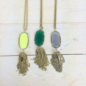 Kendra Scott Jewelry - Kendra Scott Rayne Necklace in Green