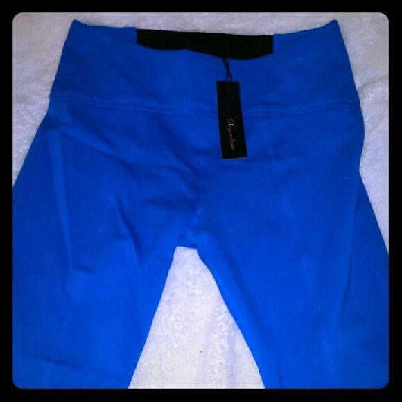 68% off shinestar Pants - Cobalt Blue leggings from Emily's closet ...