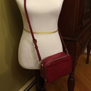 Banana Republic leather crossbody bag.