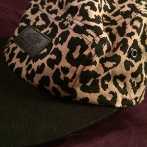 4b57305d Vans Accessories   Cheetah Print 5 Panel Hat   Poshmark