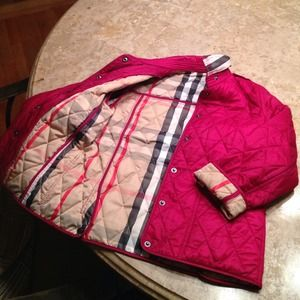 55% off Burberry Other - Burberry (kids) quilted jacket for Girl ... : burberry kids quilted jacket - Adamdwight.com