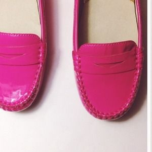 89cbd714fee Michael Kors Shoes - HP1.5 MK  Winsor  Loafer Hot Pink Patent